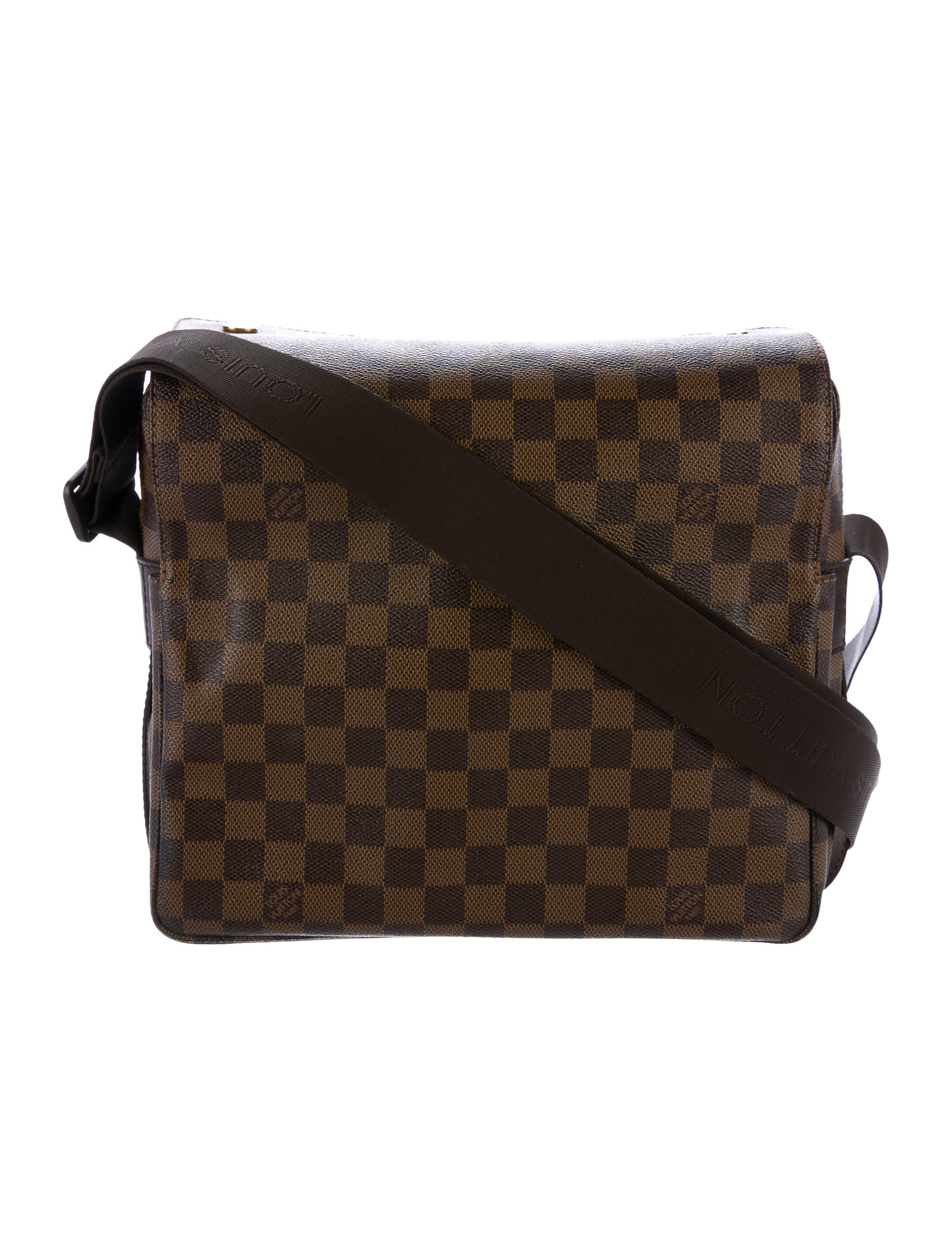 Innovative Louis Vuitton Damier Ebene Naviglio Messenger Bag - Handbags - LOU118232 | The RealReal