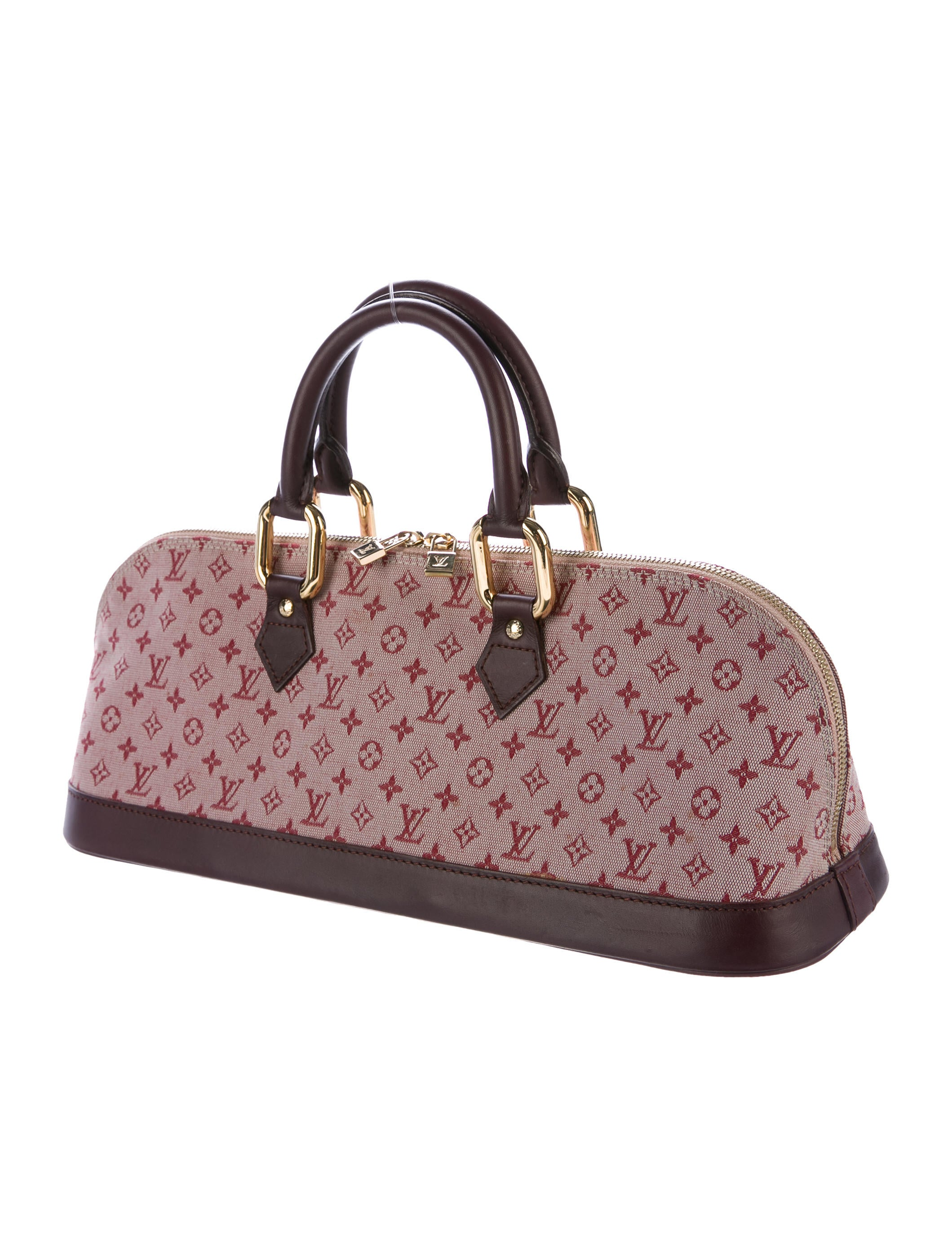 Louis vuitton mini lin alma long bag handbags for Louis vuitton miroir alma bag price