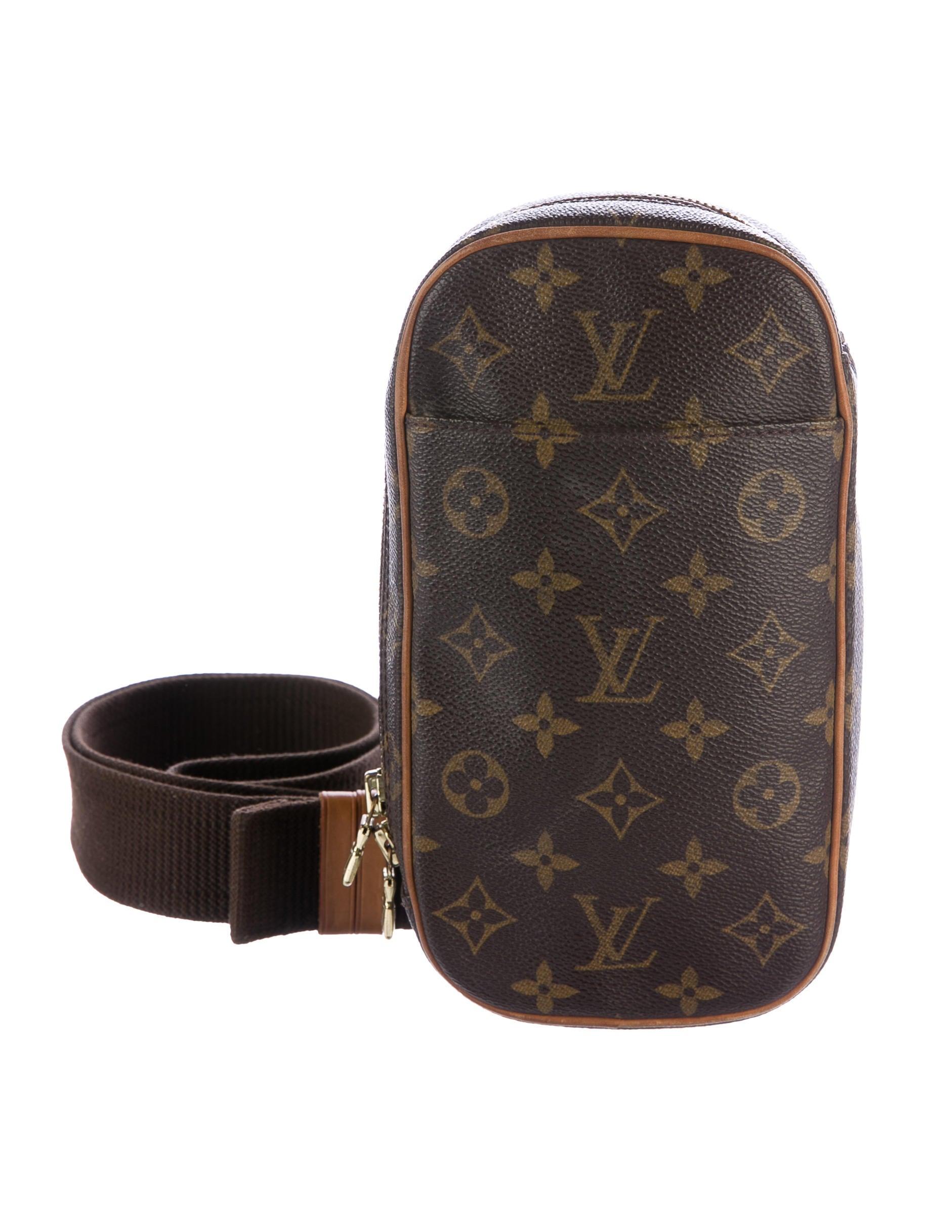 louis vuitton monogram pochette gange - handbags