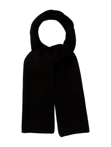 Louis Vuitton Rib Knit Cashmere Scarf None