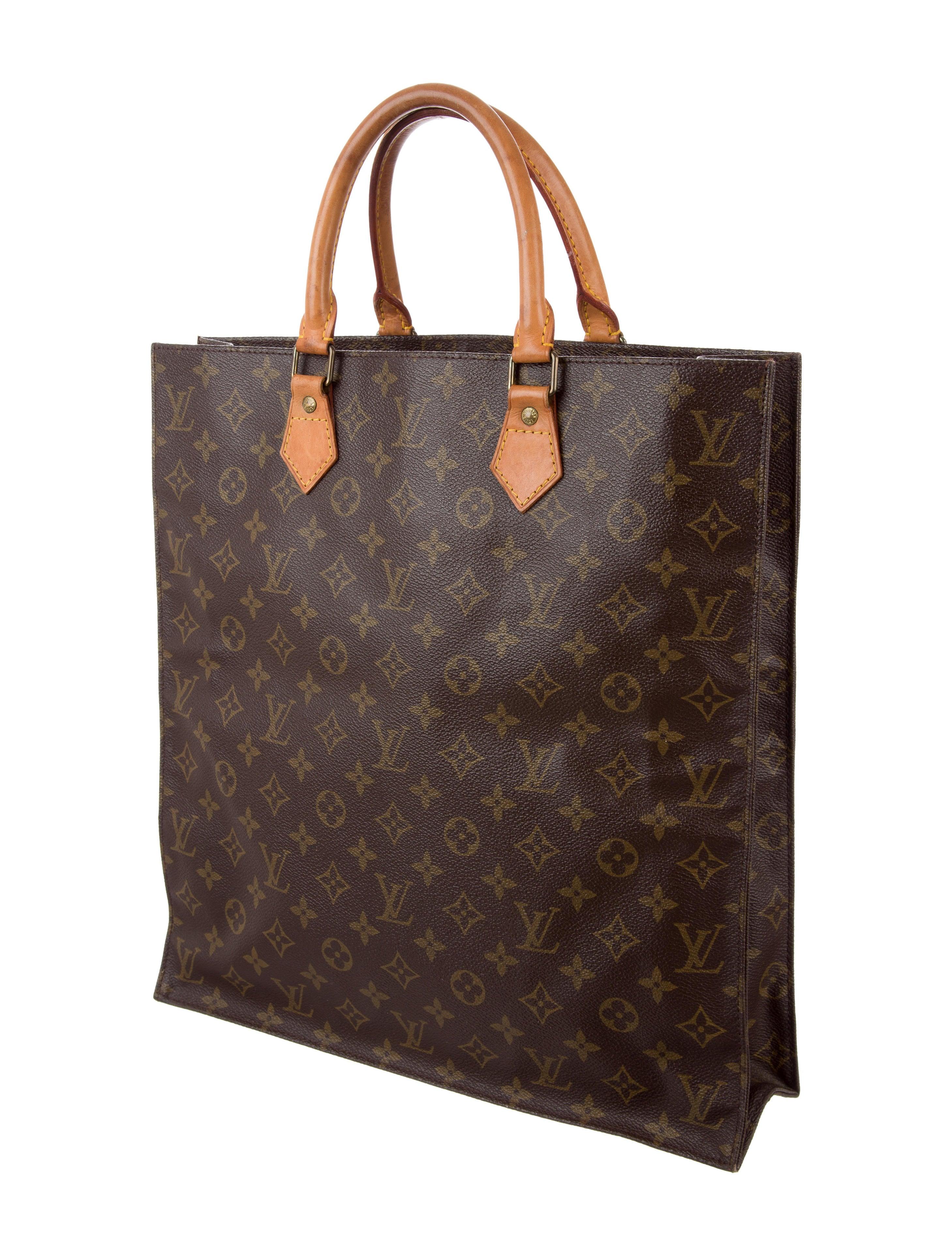 f46a82b495dbc Louis Vuitton Monogram Sac Plat - Handbags - LOU130673
