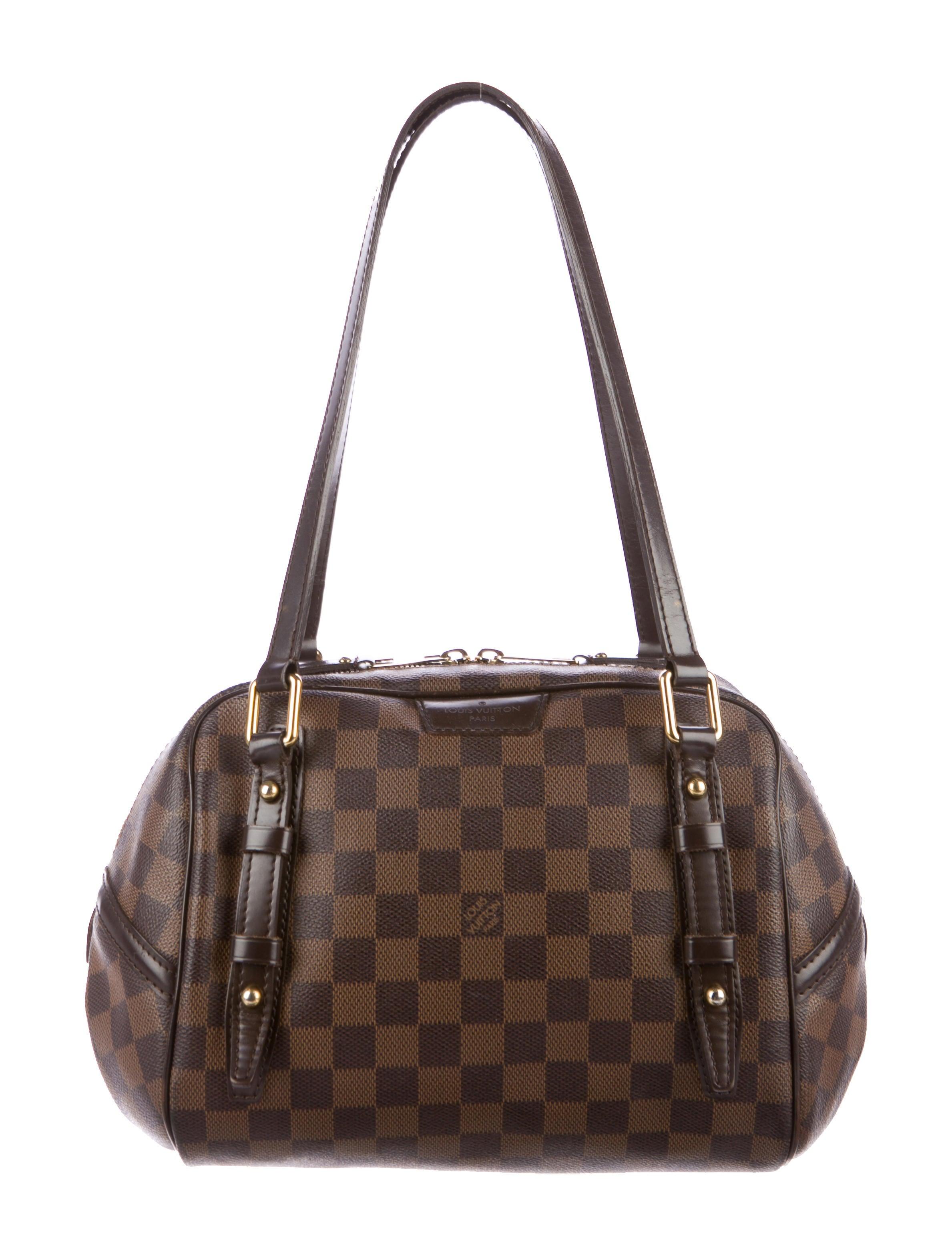 0b4b81c0b8f Louis Vuitton Damier Ebene Rivington PM - Handbags - LOU130863   The ...