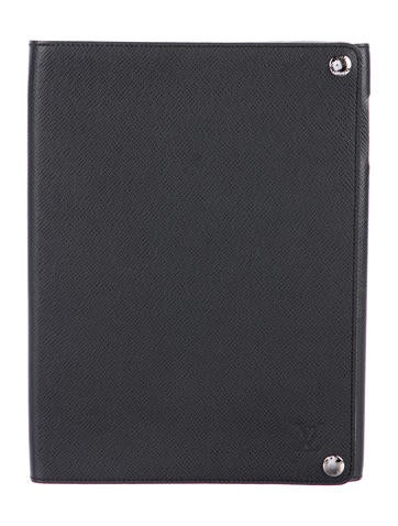 Louis Vuitton Taiga Ipad Case Technology Lou131046