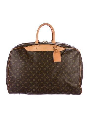 louis vuitton luggage men. louis vuitton monogram alizé 3 poches 55 luggage men