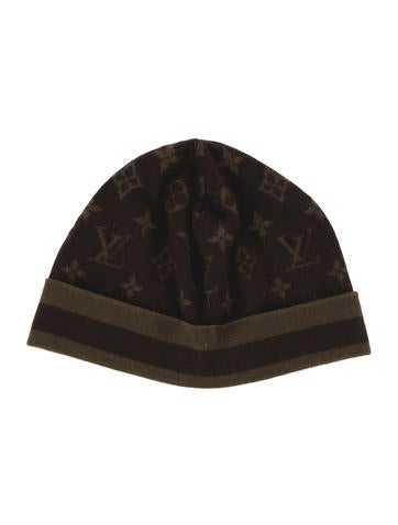 0934d4517c6 Louis Vuitton Monogram Cashmere Silk Knit Hat .