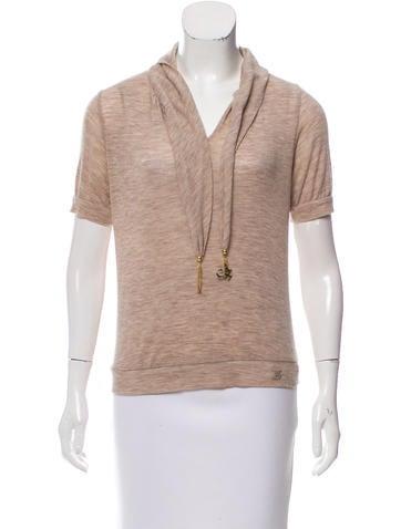Louis Vuitton Wool Short Sleeve Sweater None