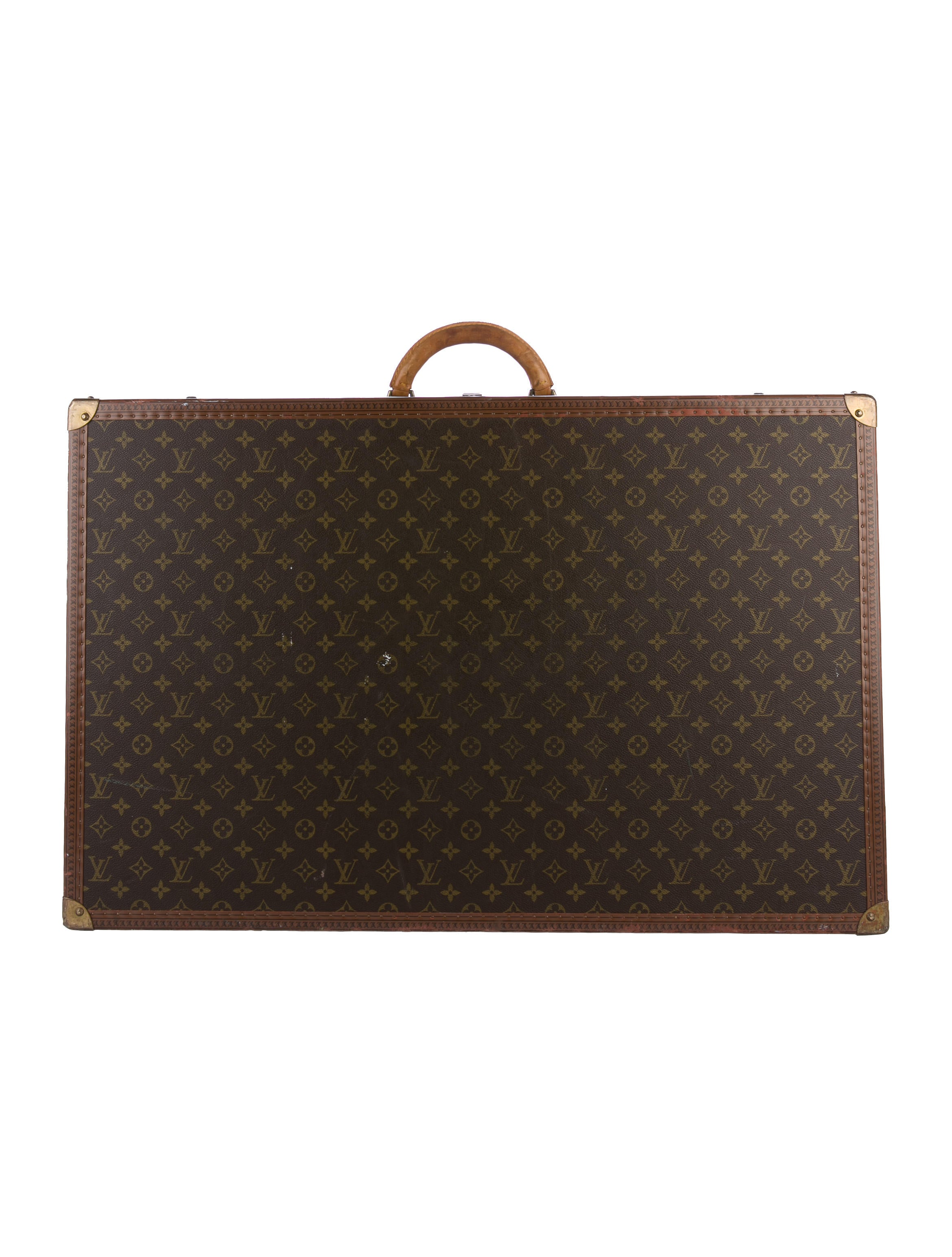 louis vuitton monogram alzer 80 luggage lou132236 the realreal. Black Bedroom Furniture Sets. Home Design Ideas