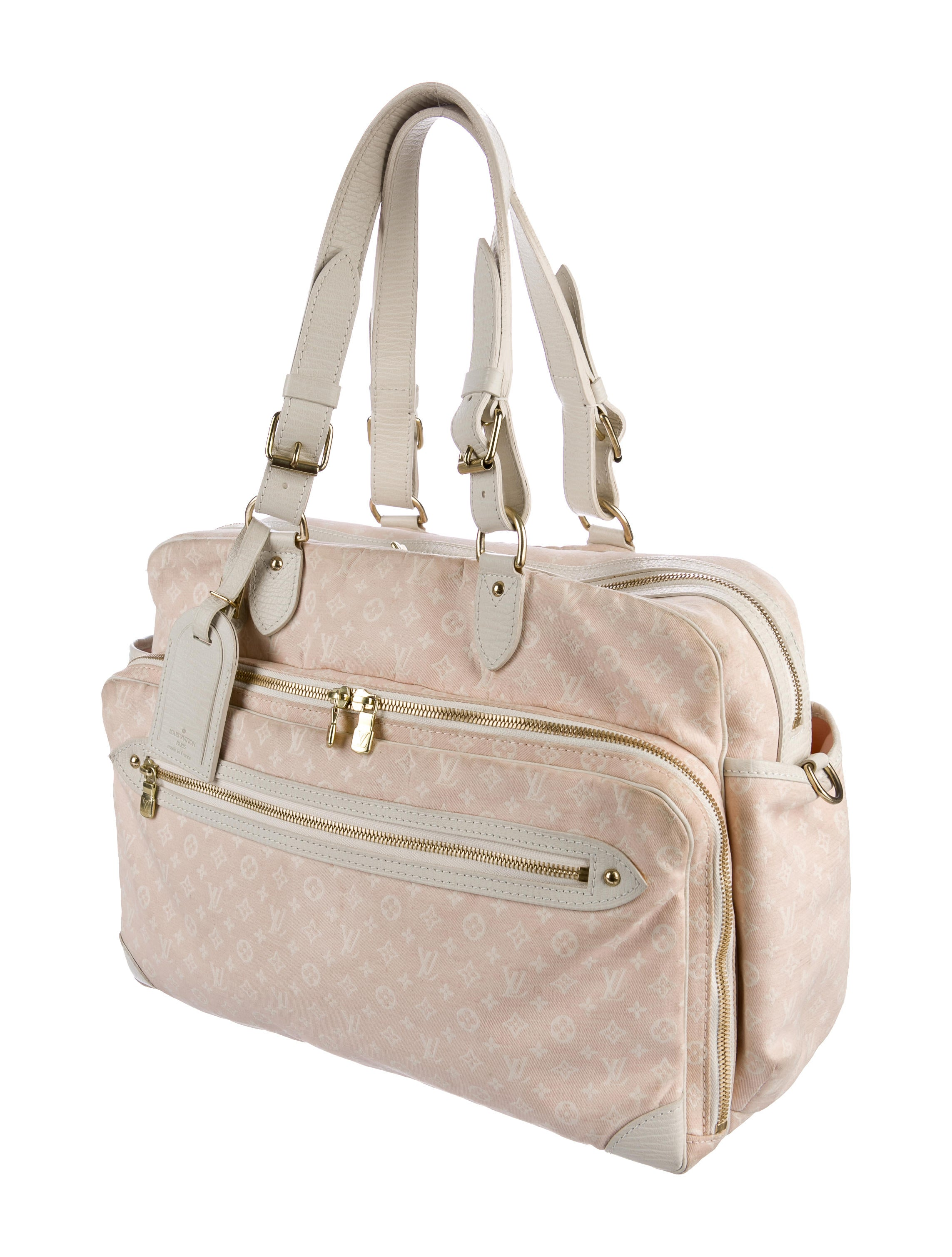 louis vuitton mini lin sac a langer diaper bag handbags lou132602 the realreal. Black Bedroom Furniture Sets. Home Design Ideas