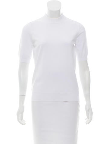 Louis Vuitton Knit Short Sleeve Top None