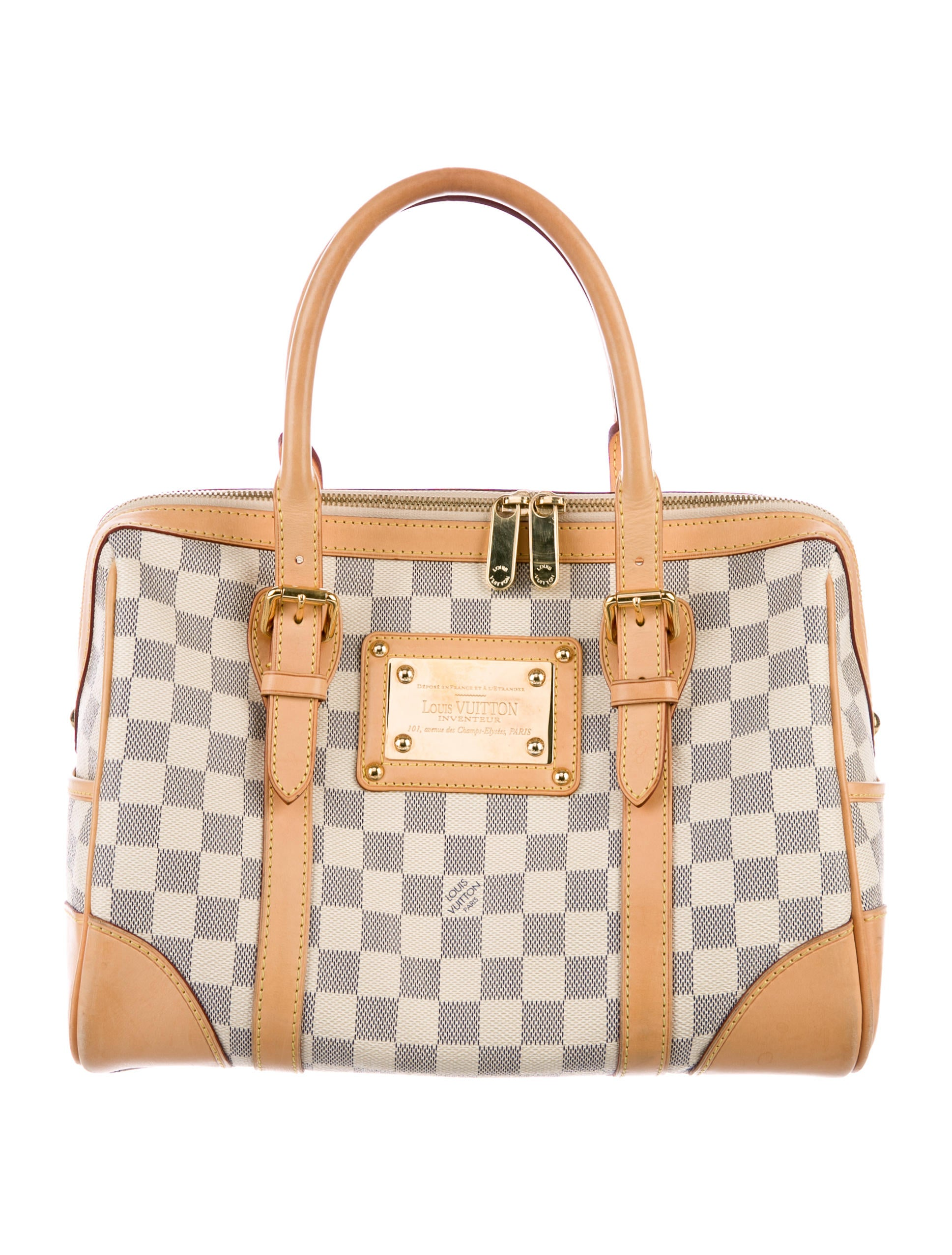 Louis Vuitton Damier Azur Berkeley Bag Handbags