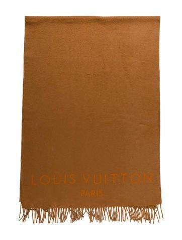 Louis Vuitton Cashmere Blanket Scarf None
