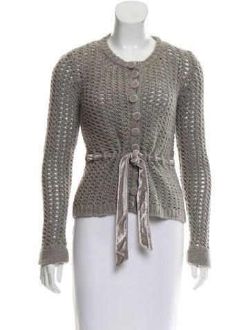 Louis Vuitton Cashmere Knit Cardigan None