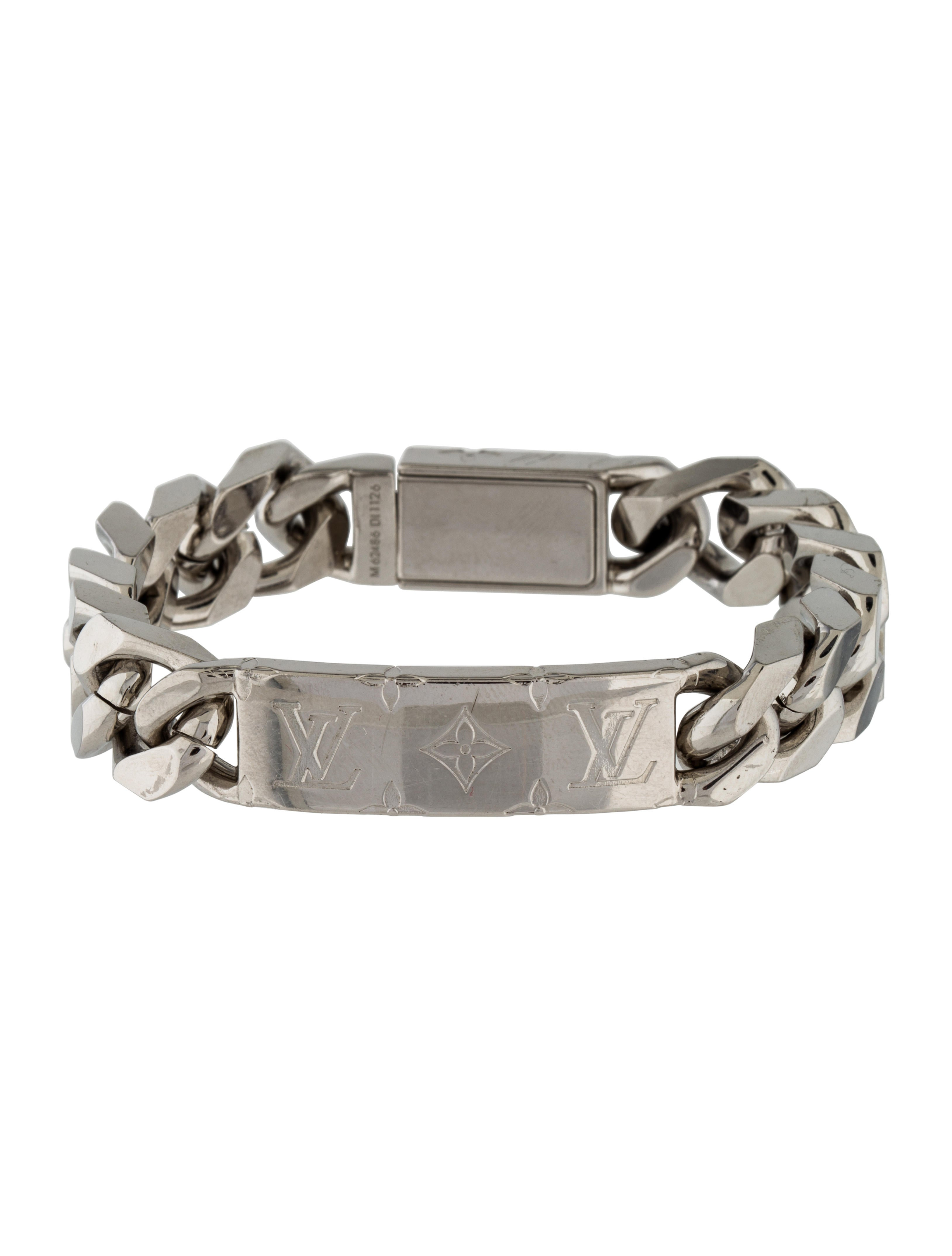 Louis Vuitton Monogram Chain Bracelet Bracelets Lou133455 The Realreal