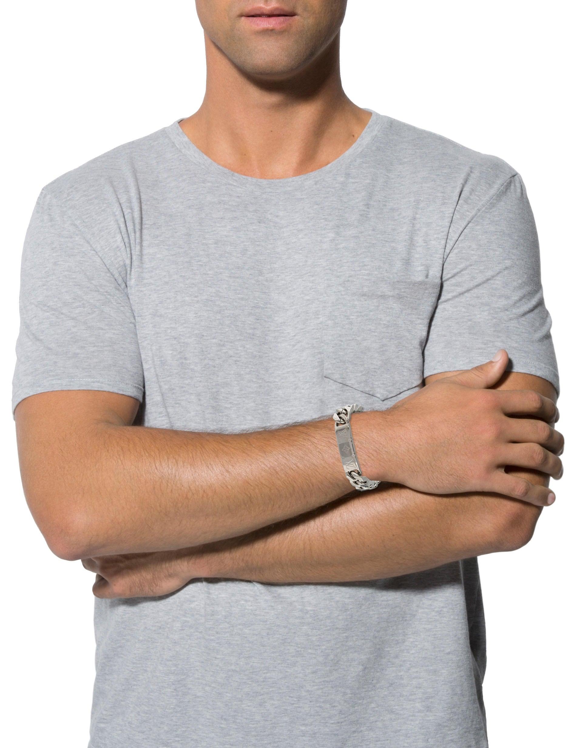Monogram Chain Bracelet