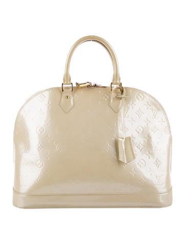 Louis Vuitton Vernis Alma GM None