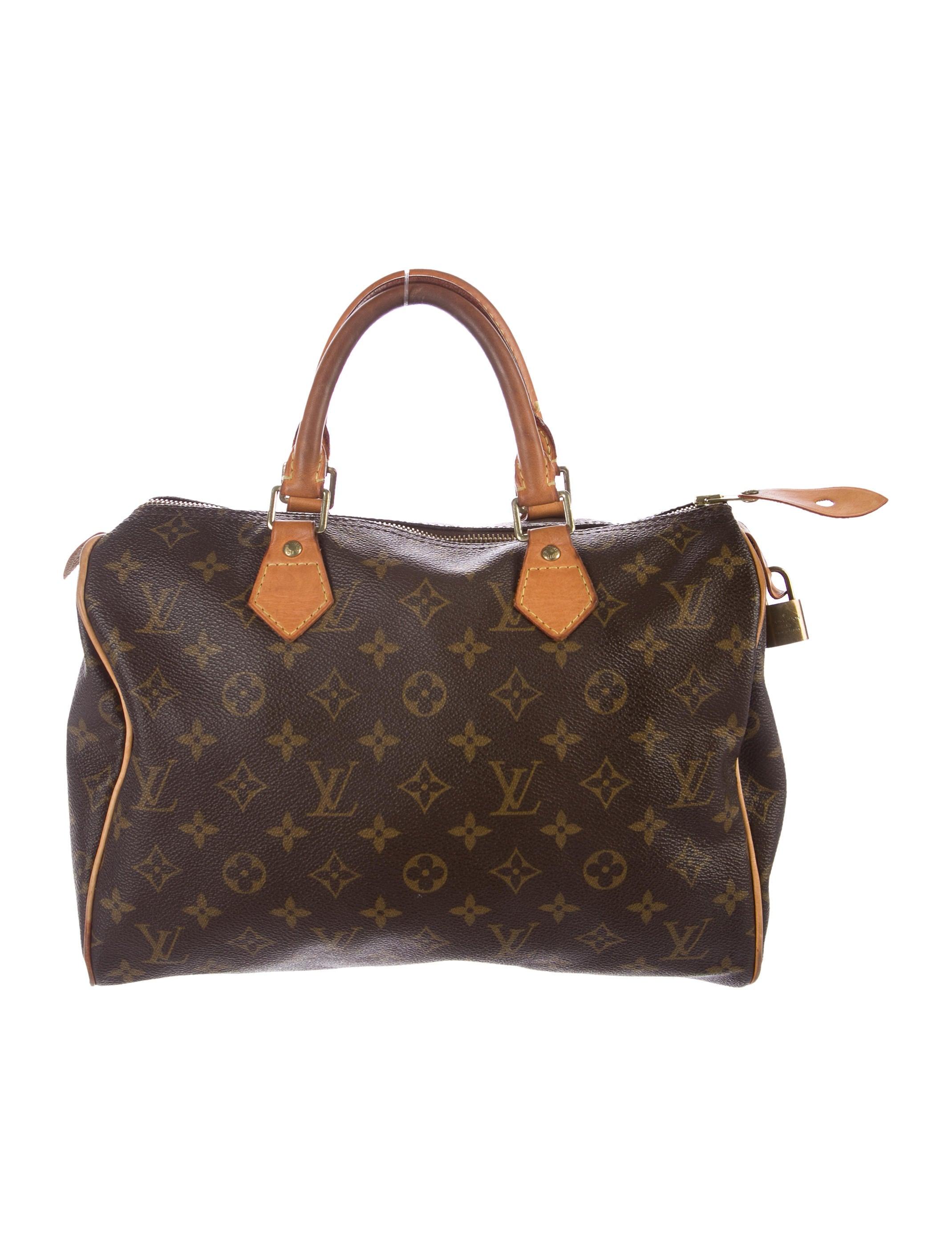 Louis vuitton monogram speedy 30 handbags lou133955 for Louis vuitton miroir speedy 30