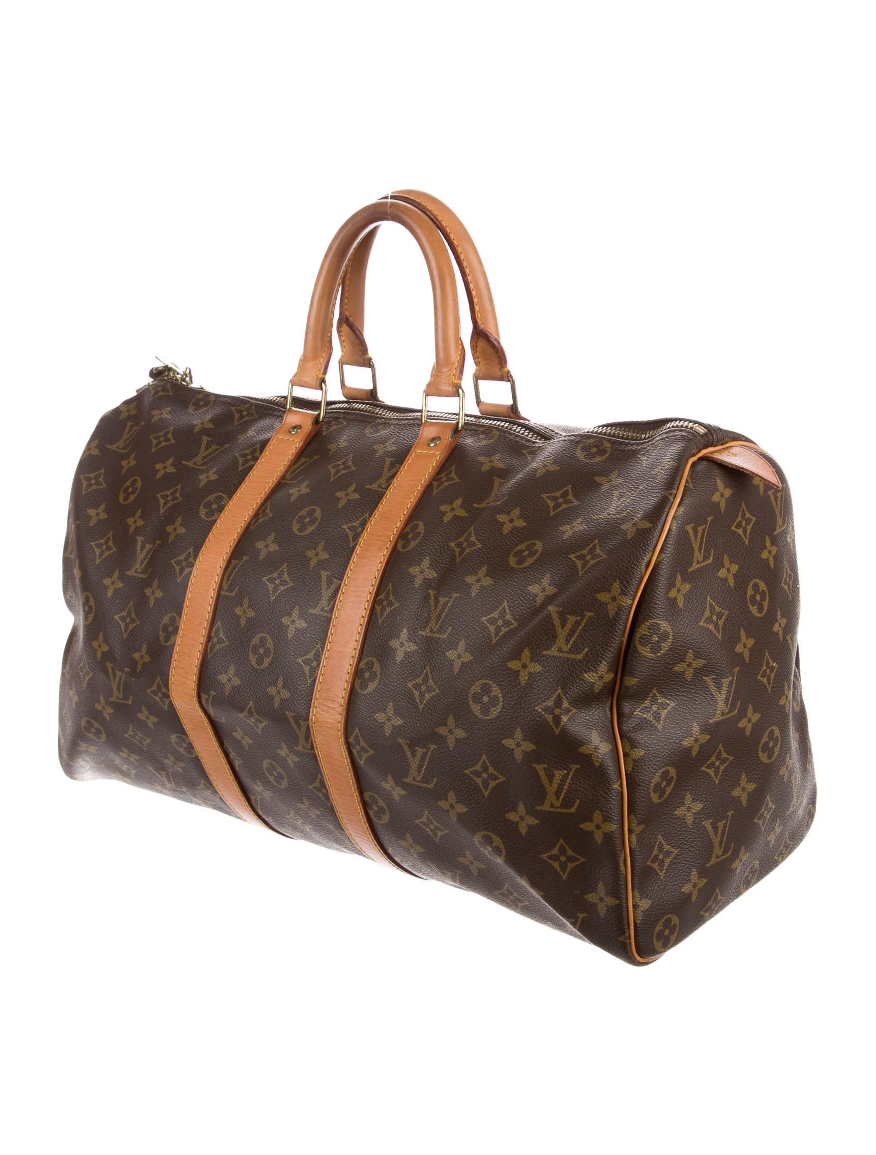 louis vuitton monogram keepall 45 handbags lou134086. Black Bedroom Furniture Sets. Home Design Ideas