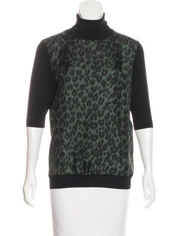 Louis Vuitton Wool & Silk Top None