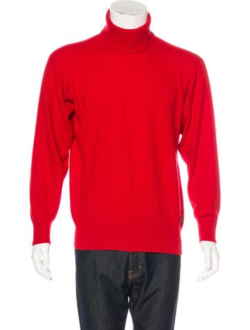 Louis Vuitton Cashmere Mock Neck Sweater None