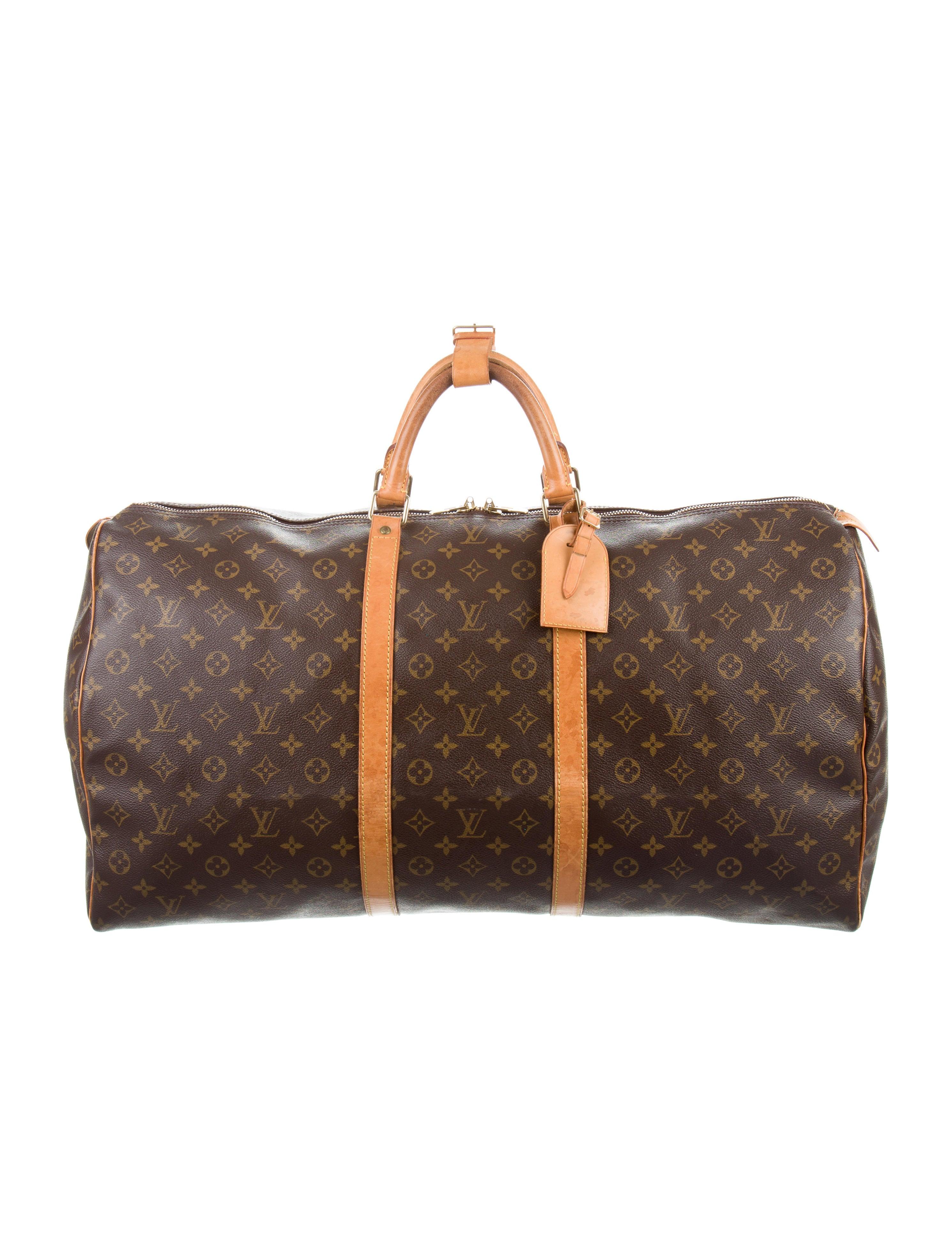louis vuitton monogram keepall 60 handbags lou134613. Black Bedroom Furniture Sets. Home Design Ideas