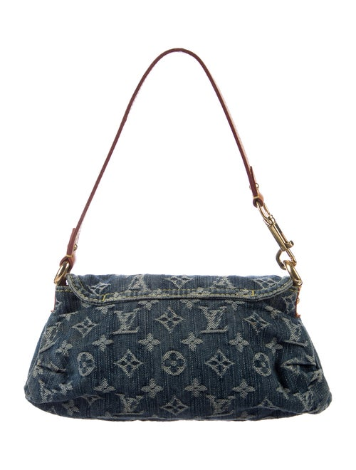 01507c6908f Louis Vuitton Monogram Denim Mini Pleaty Bag - Handbags - LOU134710 ...
