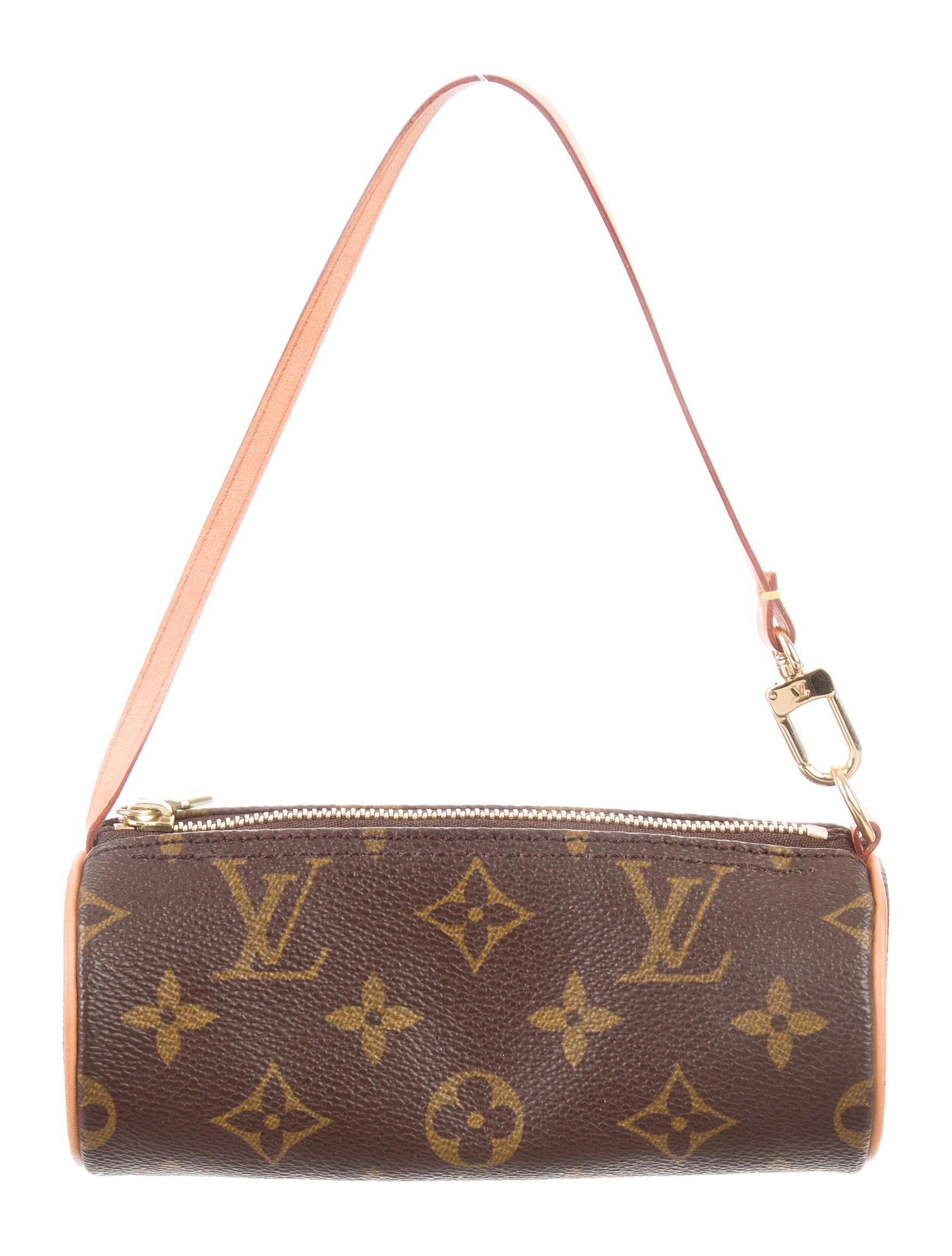 louis vuitton monogram papillon pochette handbags. Black Bedroom Furniture Sets. Home Design Ideas
