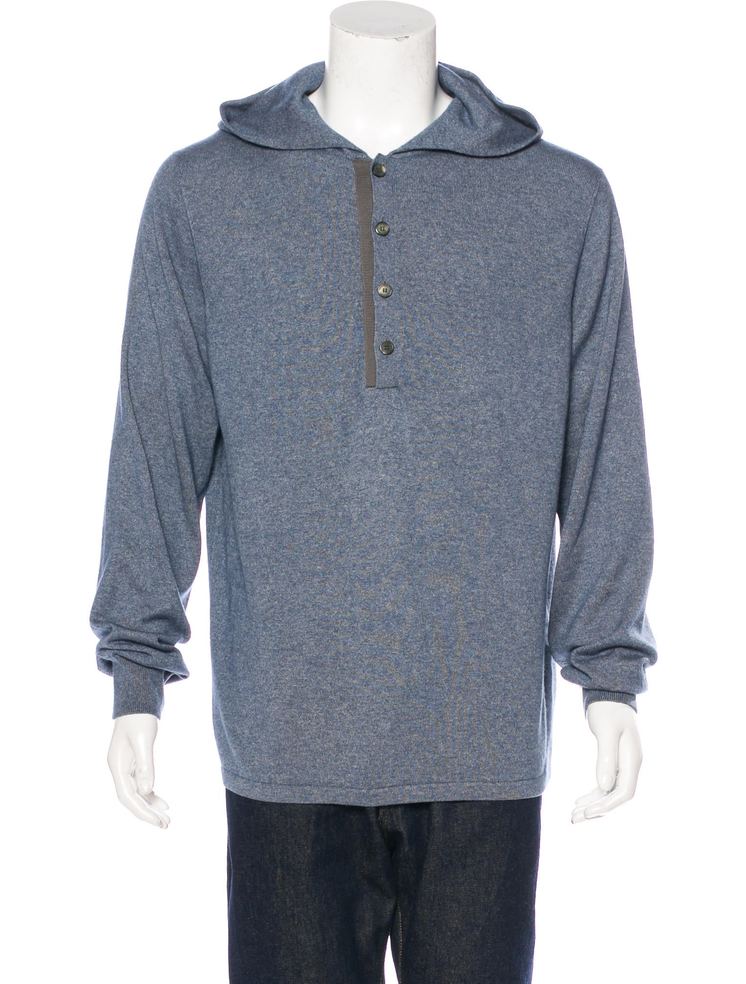 louis vuitton cashmere silk hooded sweater clothing. Black Bedroom Furniture Sets. Home Design Ideas