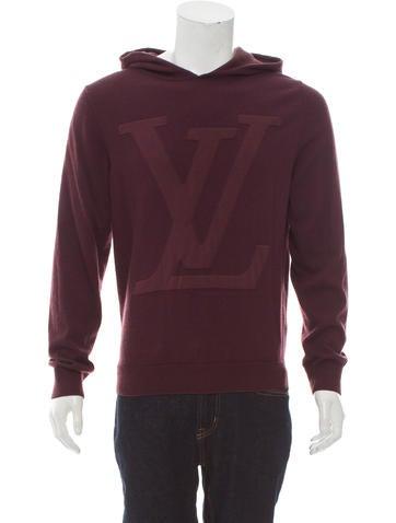 Louis Vuitton Wool Logo Hoodie None