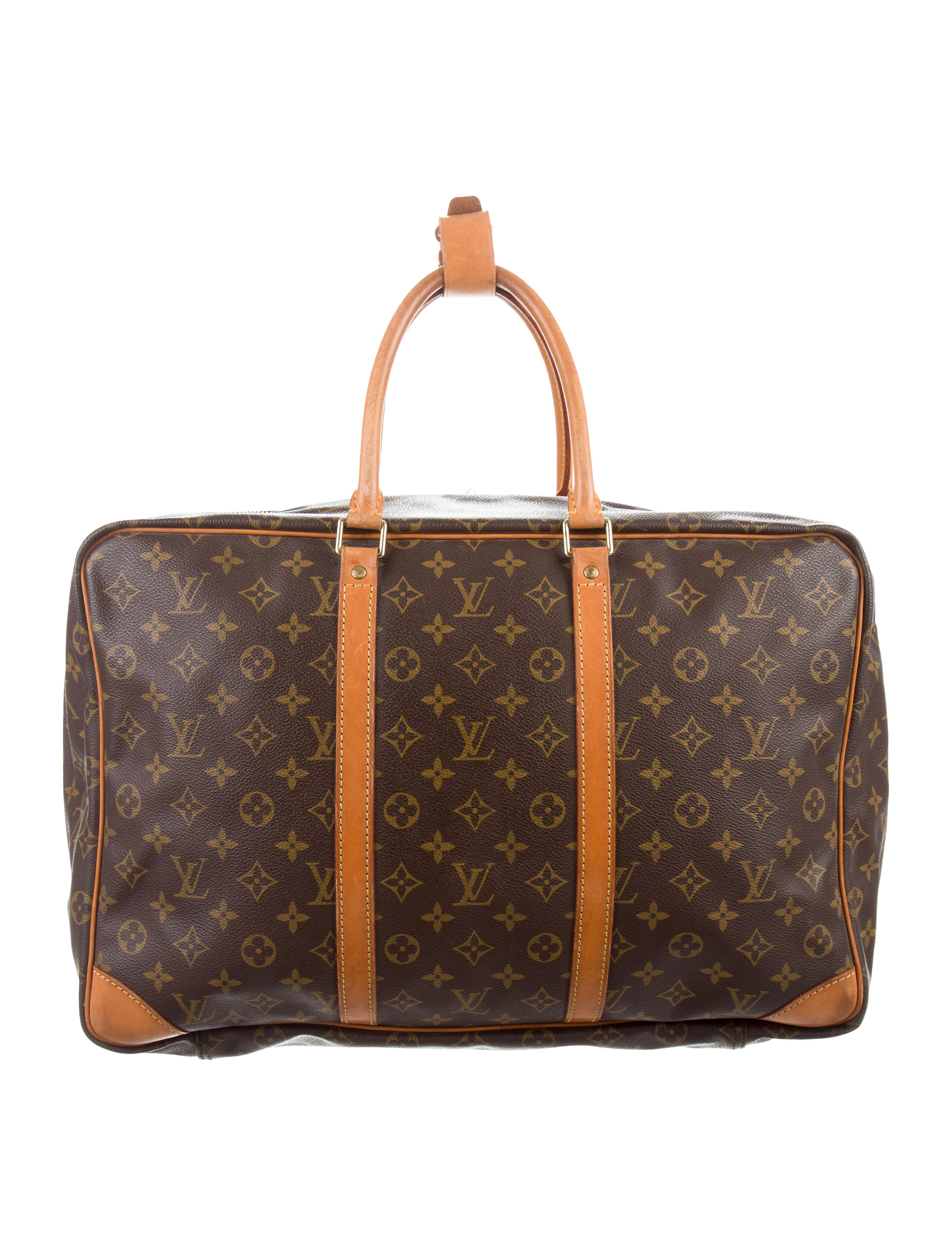 louis vuitton monogram sirius 45 handbags lou136857 the realreal. Black Bedroom Furniture Sets. Home Design Ideas