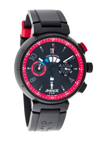 Louis Vuitton Tambour America's Cup Watch None