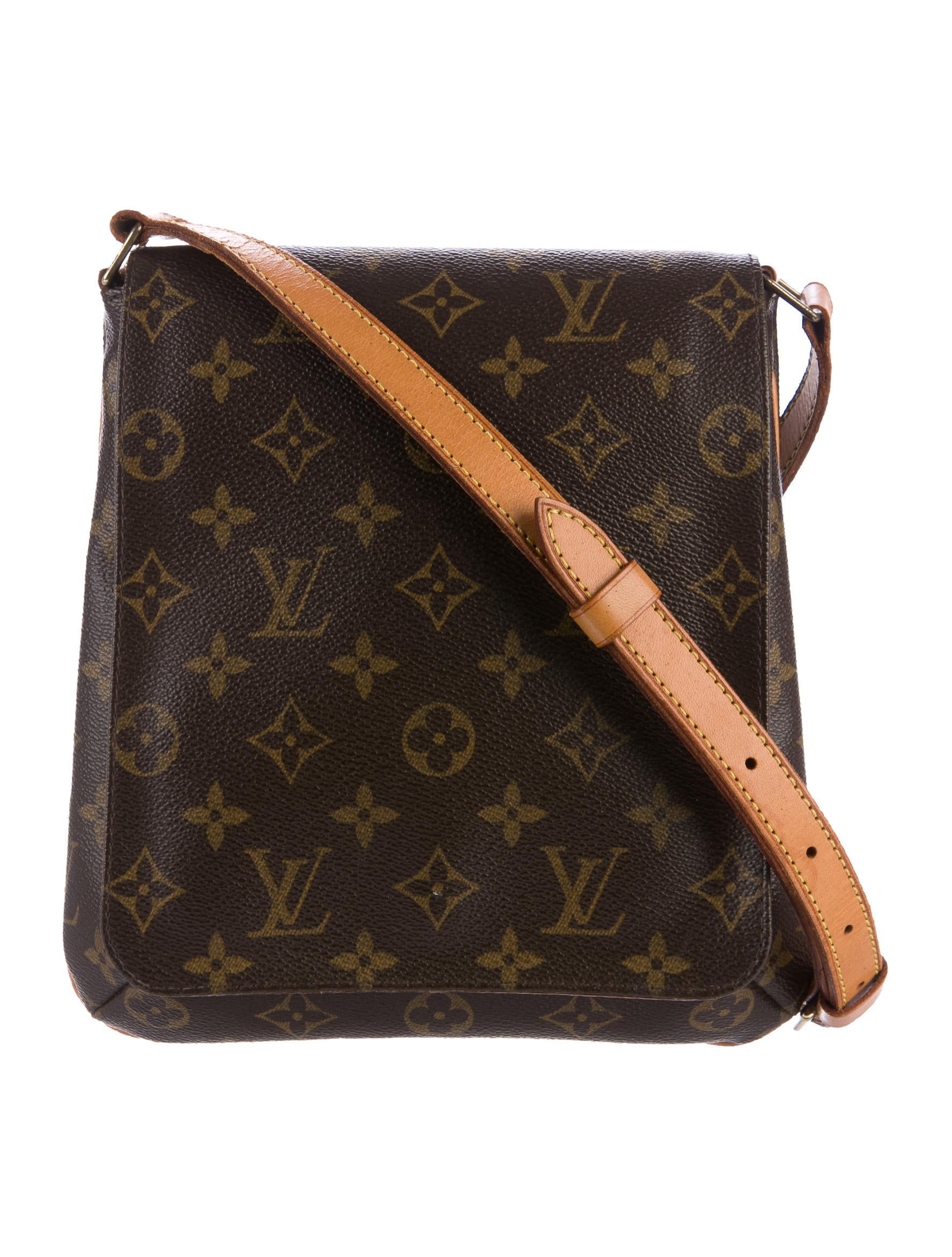 louis vuitton monogram musette salsa pm handbags lou138004 the realreal. Black Bedroom Furniture Sets. Home Design Ideas