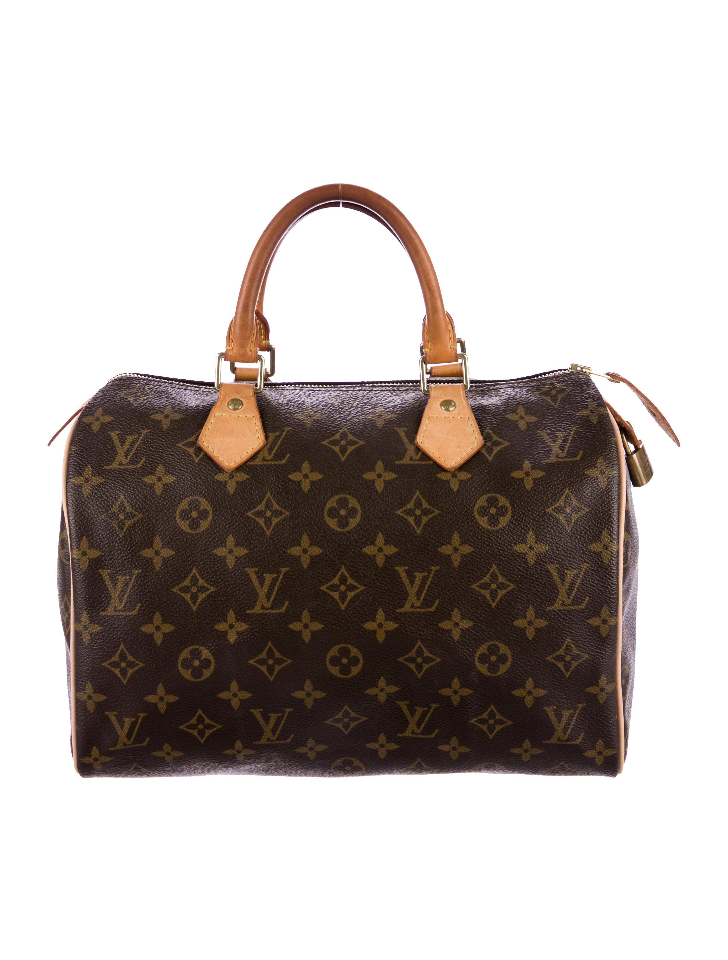 Louis vuitton monogram speedy 35 handbags lou138176 for Louis vuitton miroir speedy 35