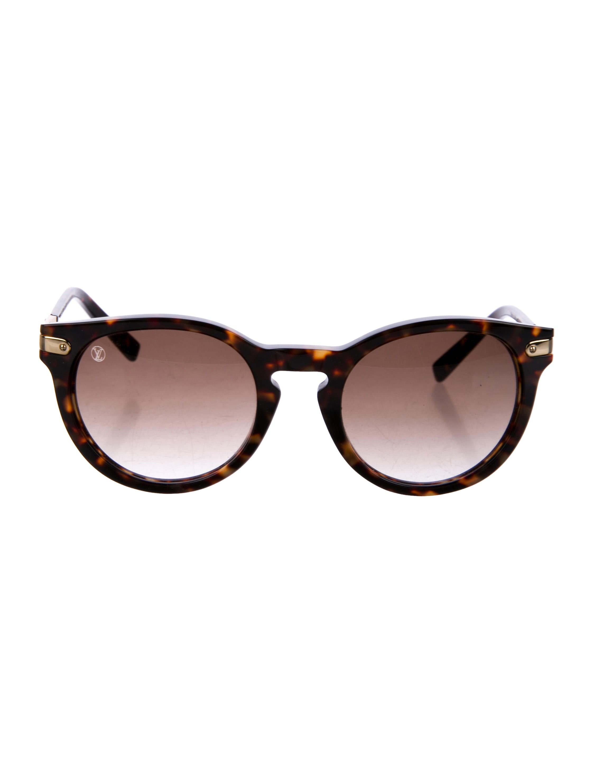 5d56572cf86 Louis Vuitton Rosalie Tortoiseshell Sunglasses - Accessories ...
