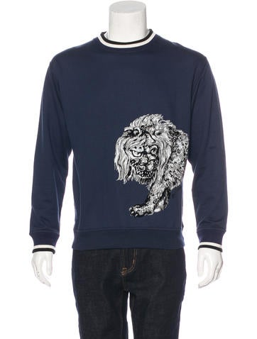 Louis Vuitton Felted Graphic Sweatshirt None
