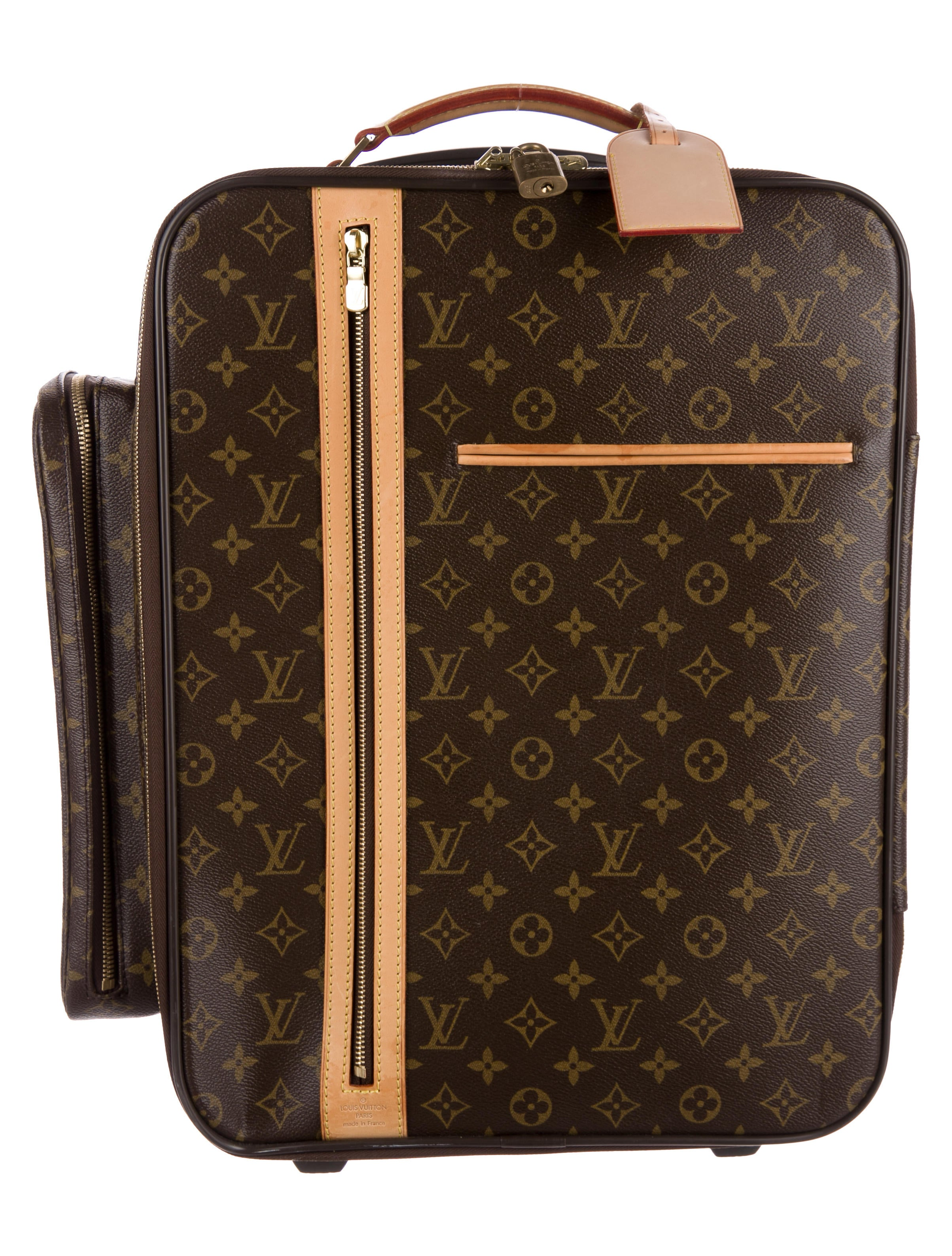 louis vuitton monogram bosphore trolley 45 luggage lou139138 the realreal. Black Bedroom Furniture Sets. Home Design Ideas