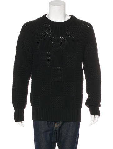 Louis Vuitton Wool Cable Knit Sweater None