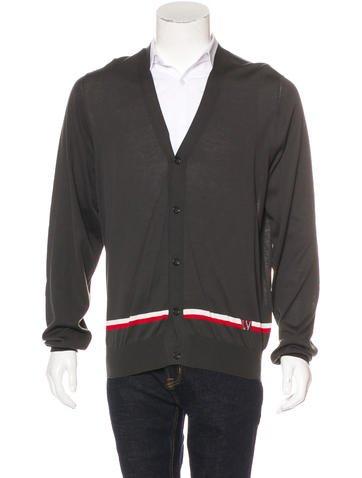 Louis Vuitton Striped Knit Cardigan w/ Tags None