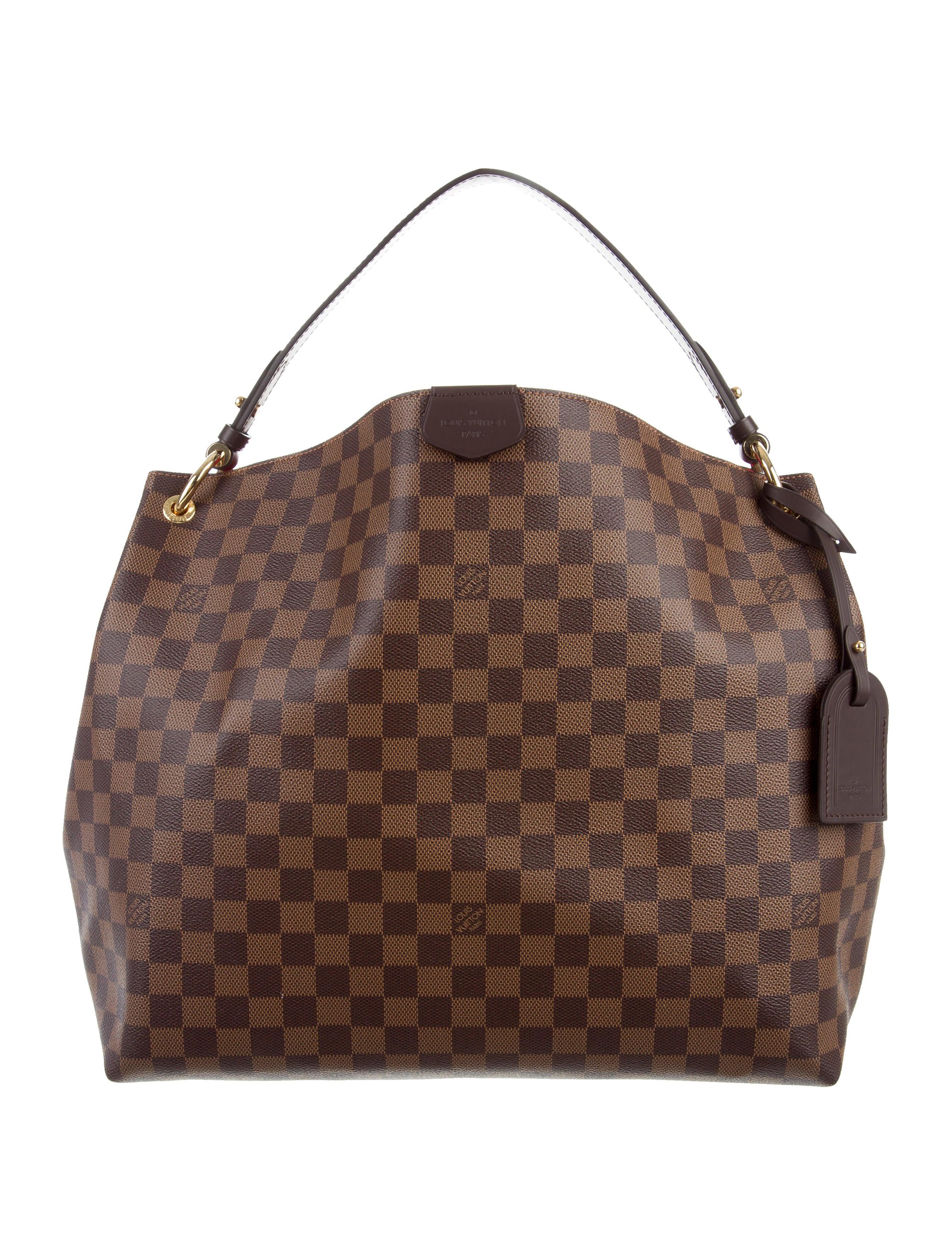 Louis Vuitton 2017 Damier Ebene Graceful MM - Handbags - LOU139491 ... bda11b5e2163c