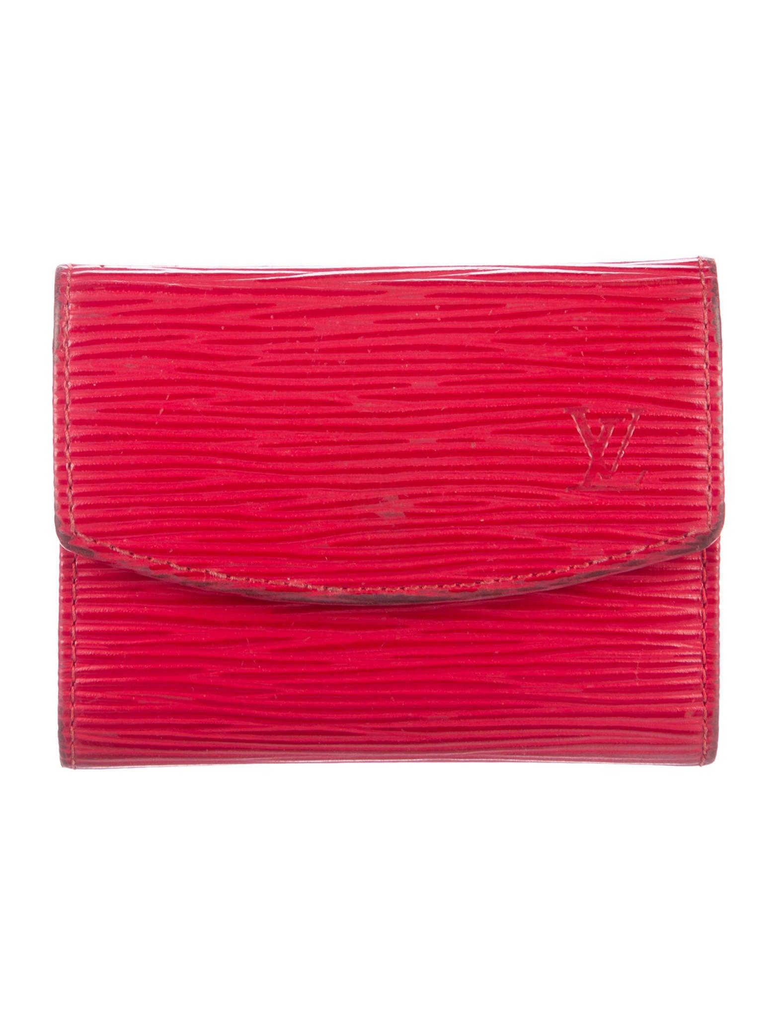 Louis Vuitton Epi Business Card Holder - Accessories - LOU139885 ...