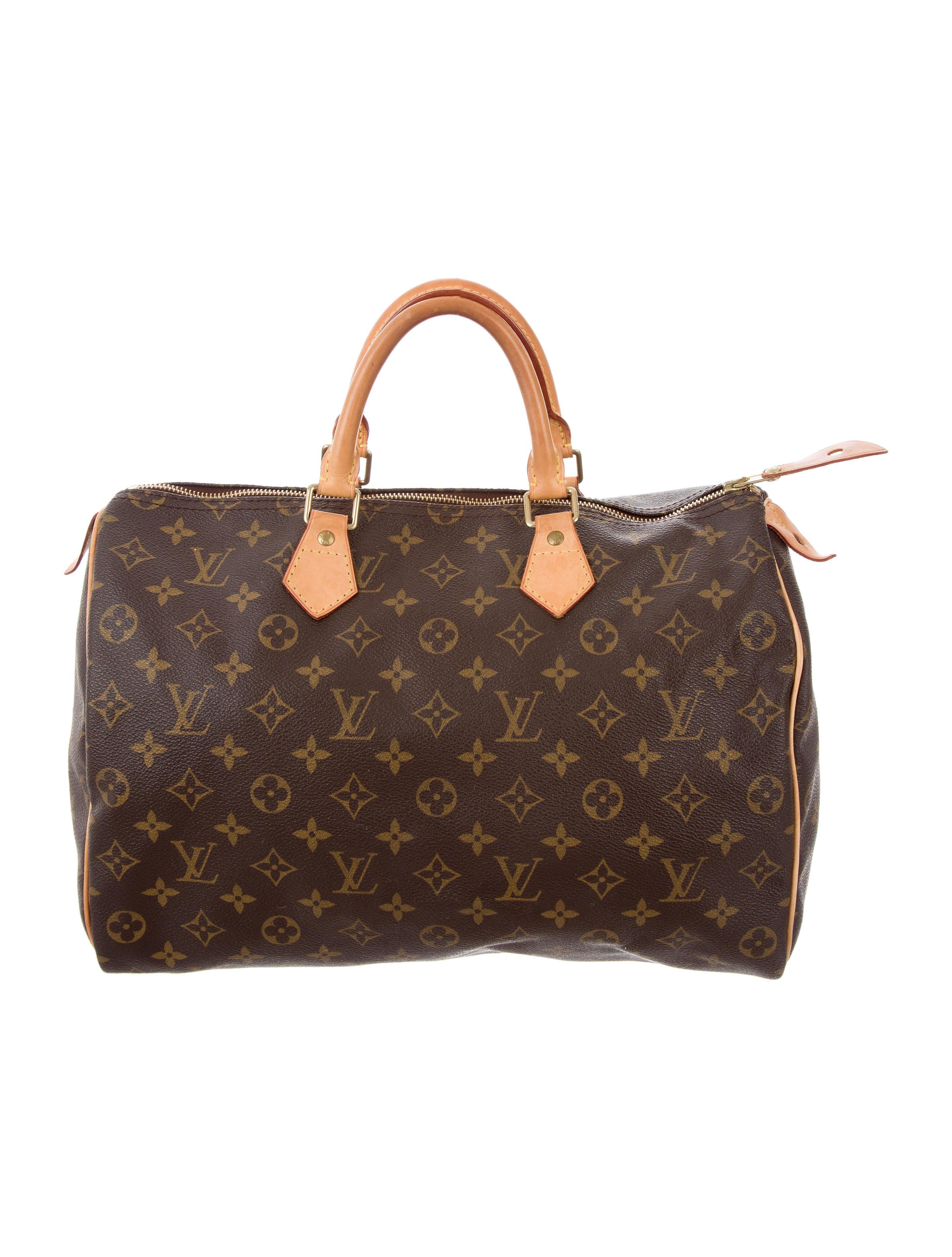 Louis vuitton monogram speedy 35 handbags lou140047 for Louis vuitton miroir speedy 35