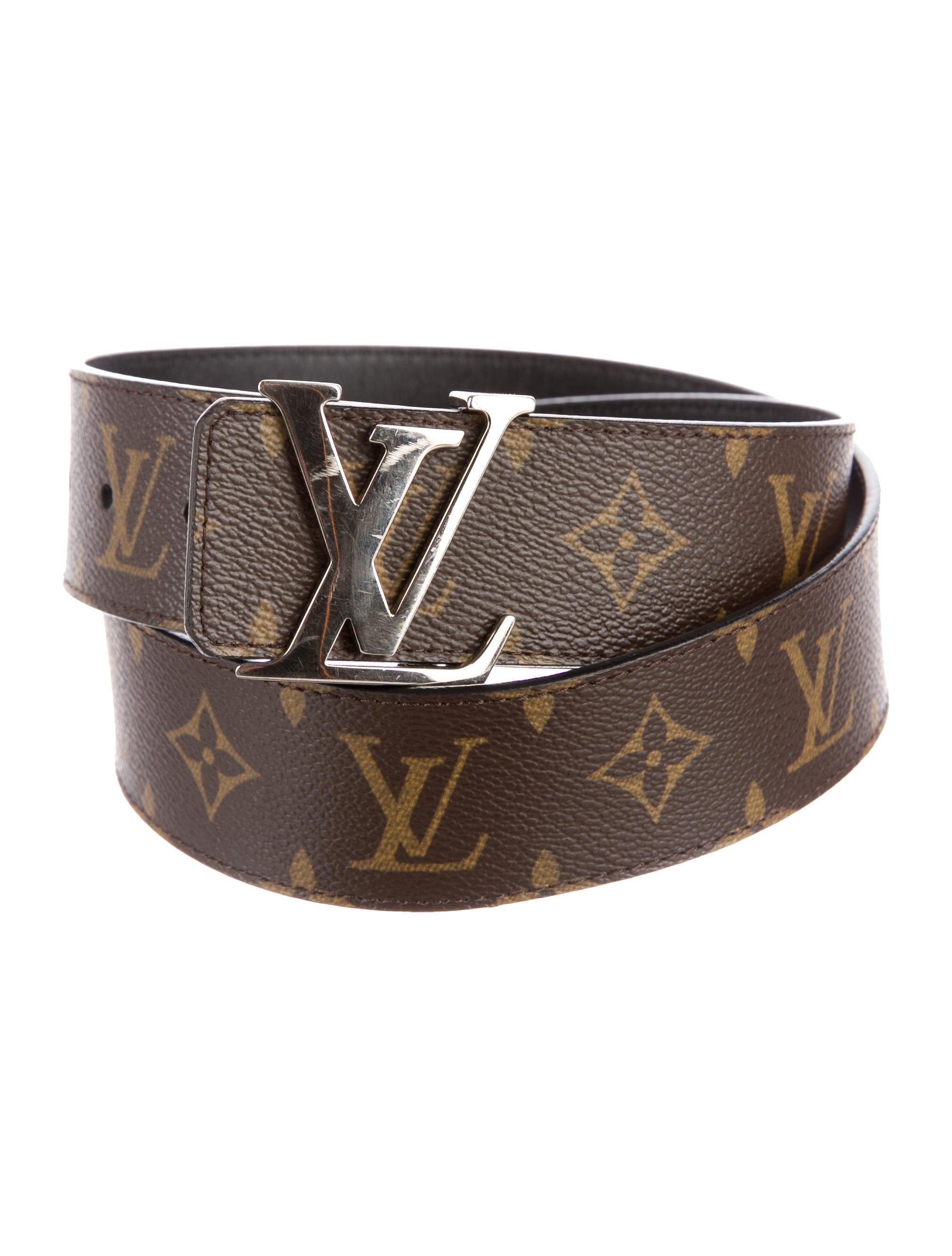 Louis Vuitton Initiales 40mm Reversible Belt Accessories