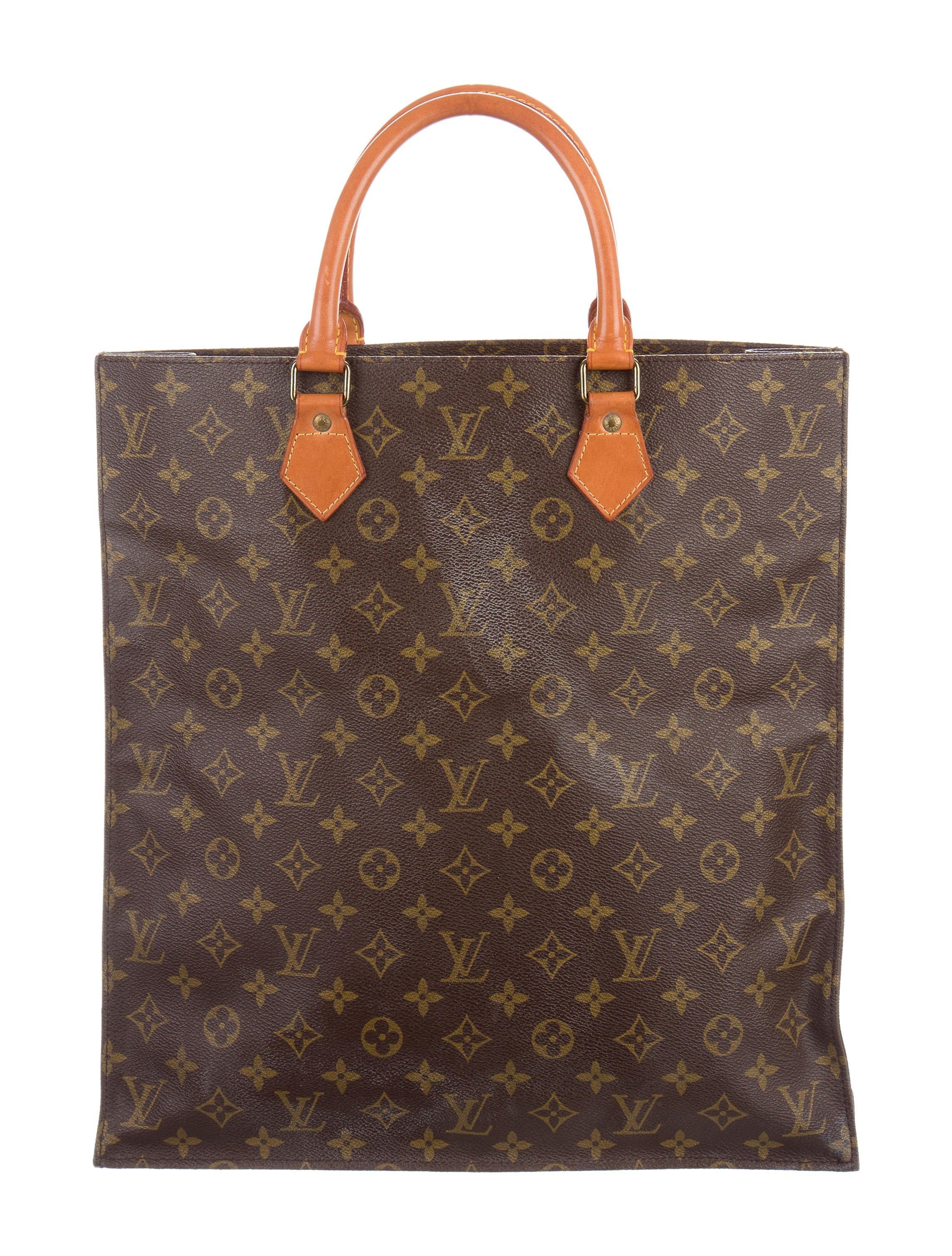 Louis vuitton monogram sac plat handbags lou141232 for Louis vuitton monogram miroir sac plat
