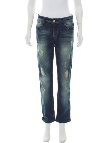 Louis Vuitton Mid-Rise Jeans None