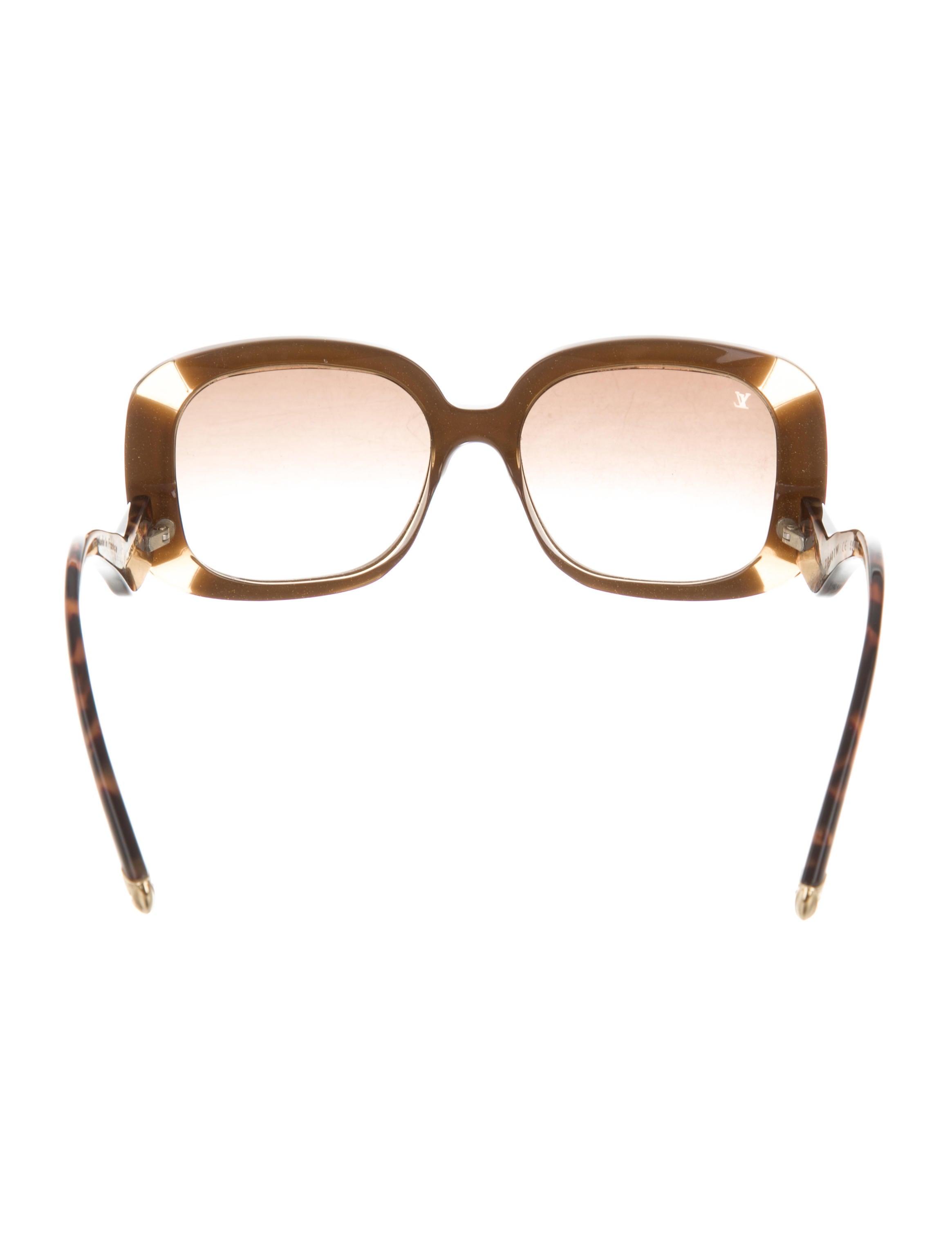 c6a4d336b44d Louis Vuitton Anemone Square Sunglasses - Accessories - LOU142334 ...