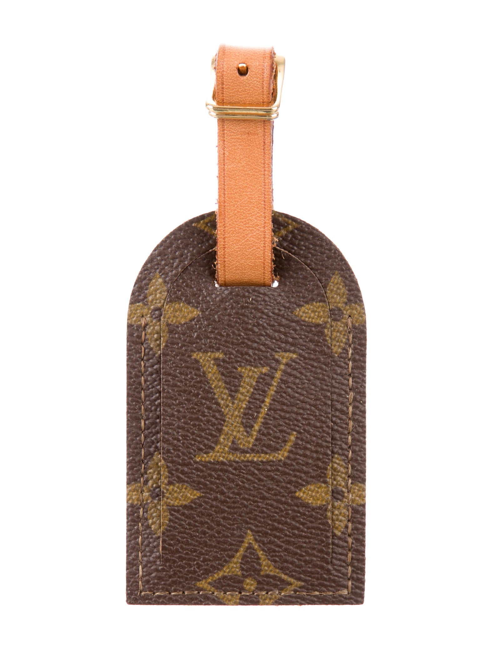 2ba74e2e347f Louis Vuitton Monogram Luggage Tag - Accessories - LOU142377