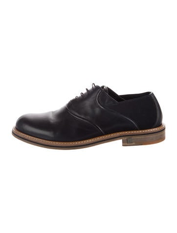 Louis Vuitton Leather Oxfords None