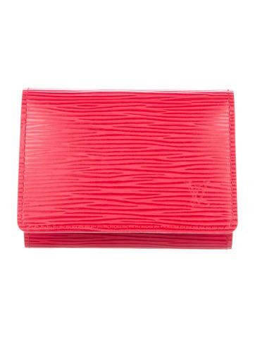 Louis Vuitton Epi Business Card Holder None