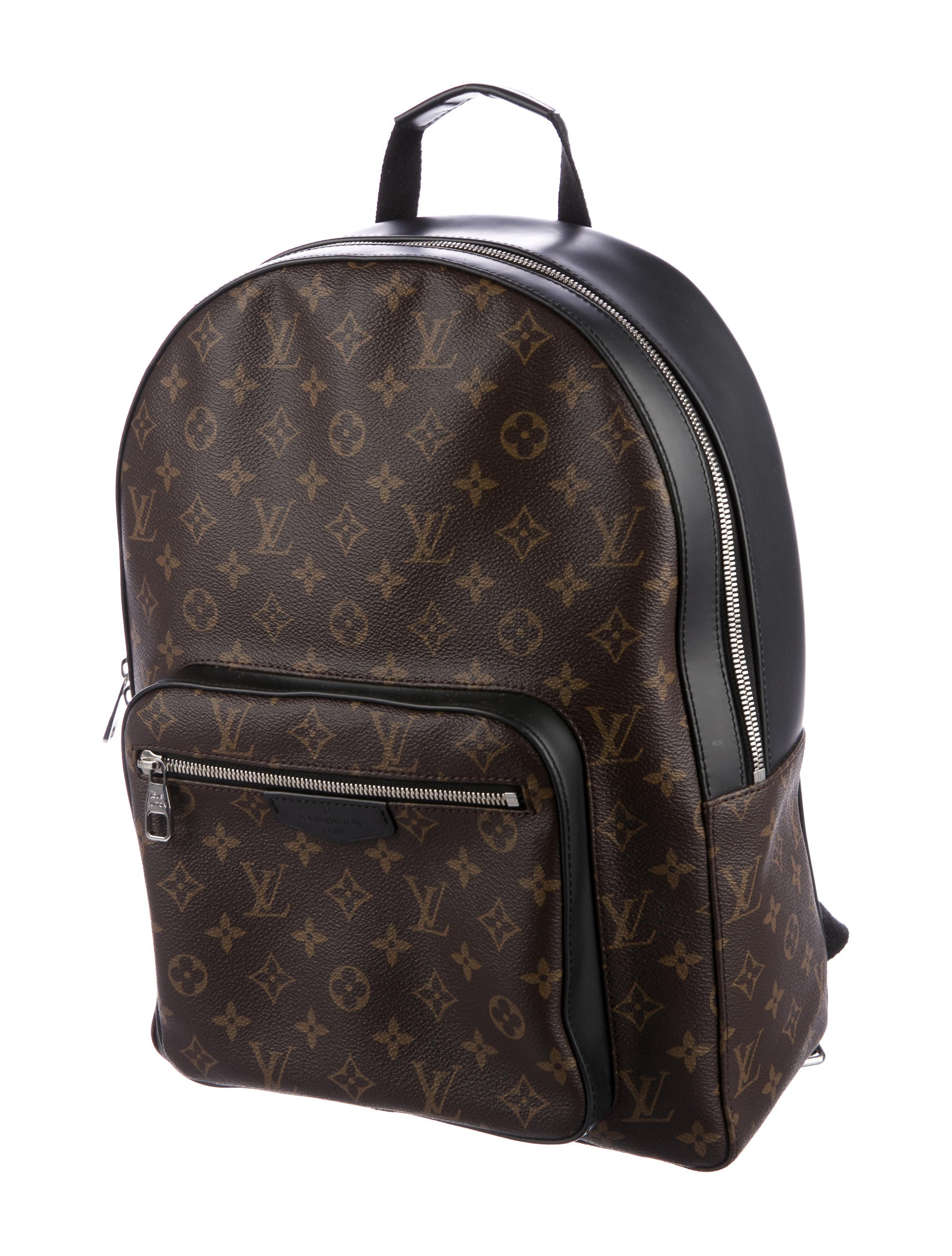 Louis Vuitton 2017 Monogram Macassar Josh Backpack