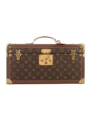 Louis Vuitton Monogram Beauty Case w/ Mirror None