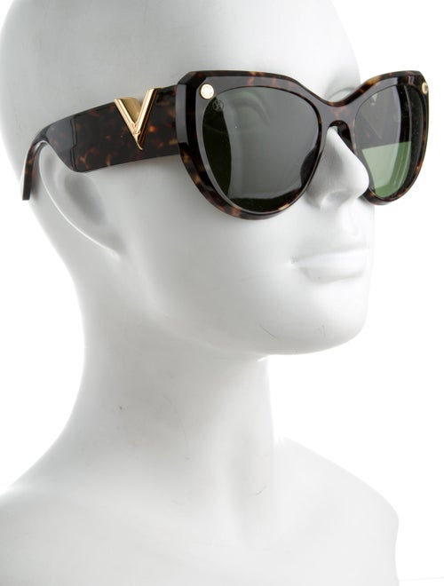 9fc12d27307 Louis Vuitton My Fair Lady Tortoiseshell Sunglasses - Accessories ...